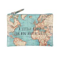 Sass & Belle - Vintage Map Purse